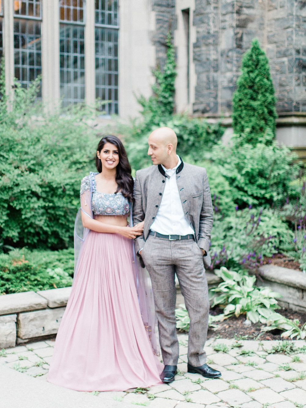 0531d24198aa Indian Engagement Style Inspiration. Pastel Colours and Great Groom Style.