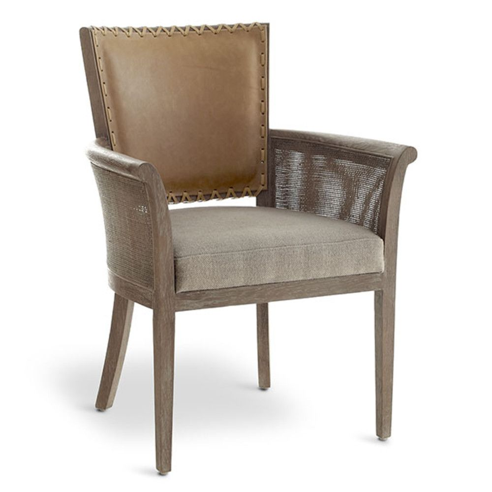 Rustic Stitched Back Armchair Rustic Chair Armchair
