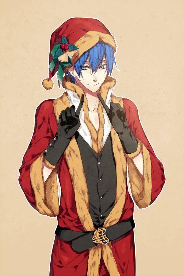 Christmas Anime boy Vocaloid | Christmas Anime | Pinterest ...