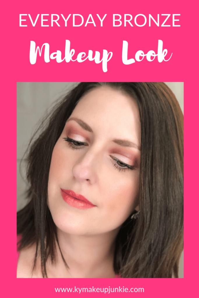 Everyday Bronze Makeup Look - Kentucky Makeup Junkie
