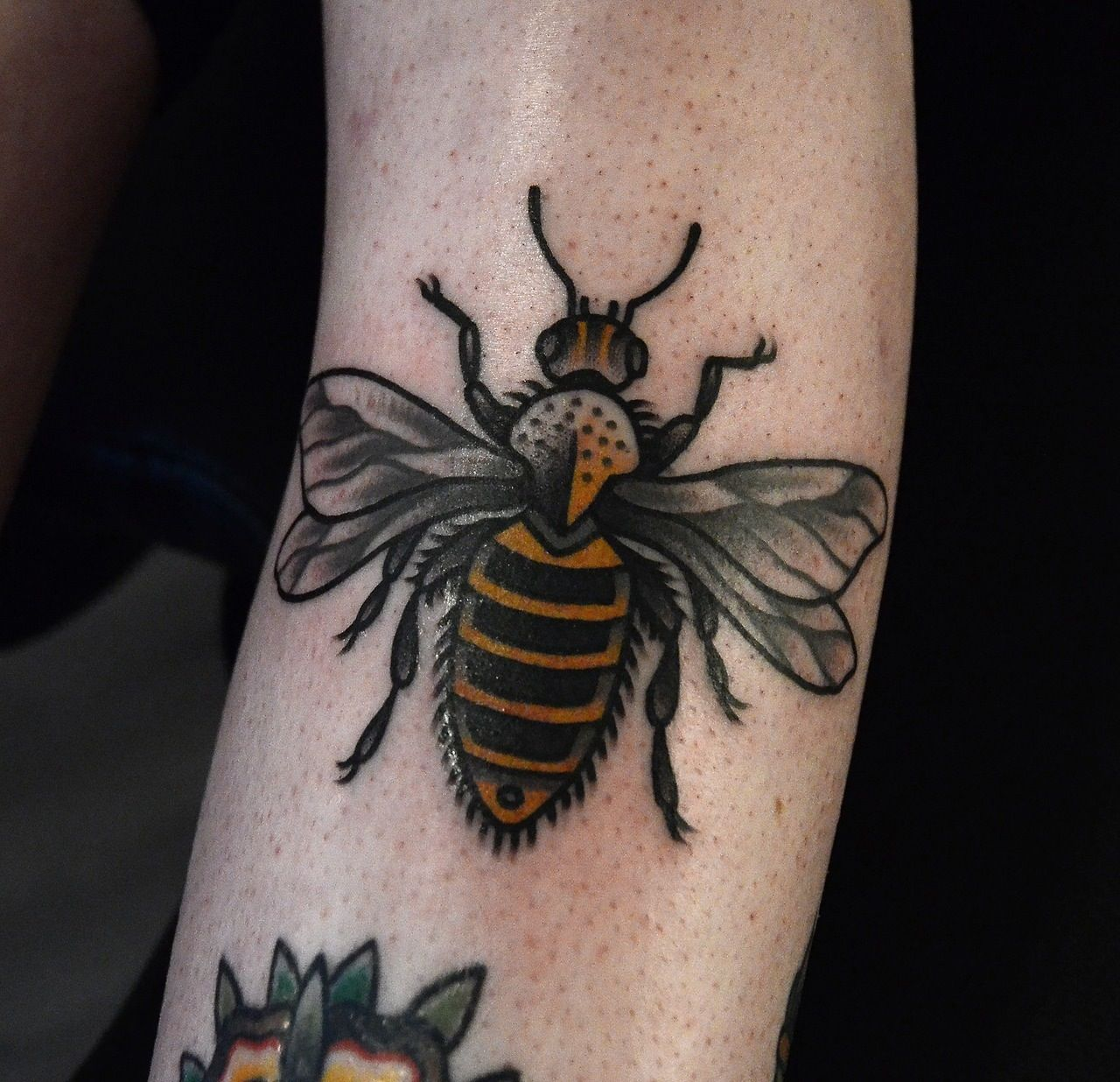 Bee By Philip Yarnell #tattoos