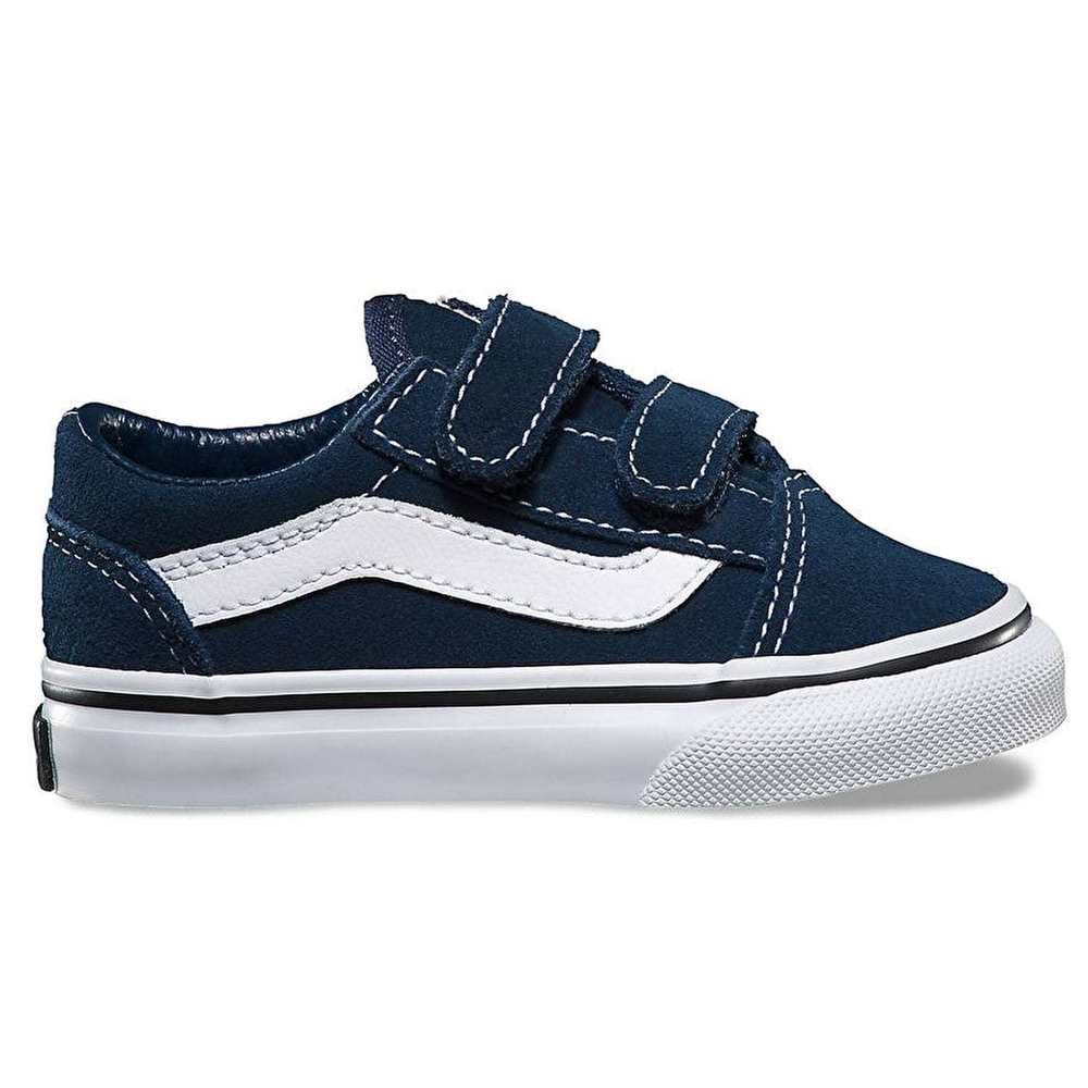 Vans Old Skool V Toddler Skate Shoes - (Suede) Dress Blues Black (eBay Link) 94c4f31ad