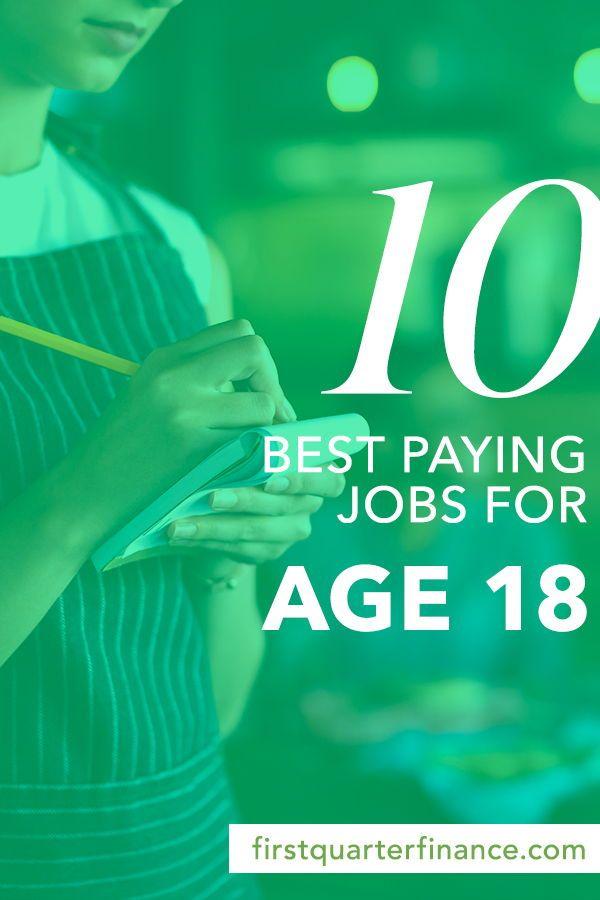 Top ten jobs for teens