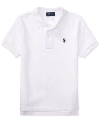 Polo Ralph Lauren Toddler Boys Pique Polo & Reviews Shirts