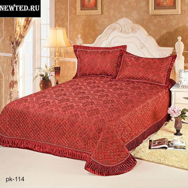 b6e758836e15 Купить красивое покрывало красное цена, фото отзывы в интернет магазине  NewTed.ru