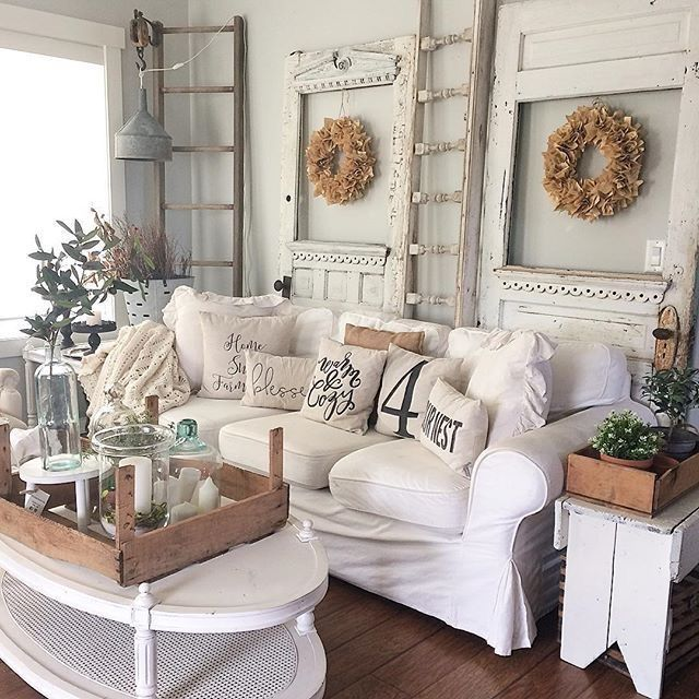 More Shabby Chic Halloween Interior Decor Ideas: Pin By Jackye Sams On White Is My Favorite Color! In 2019