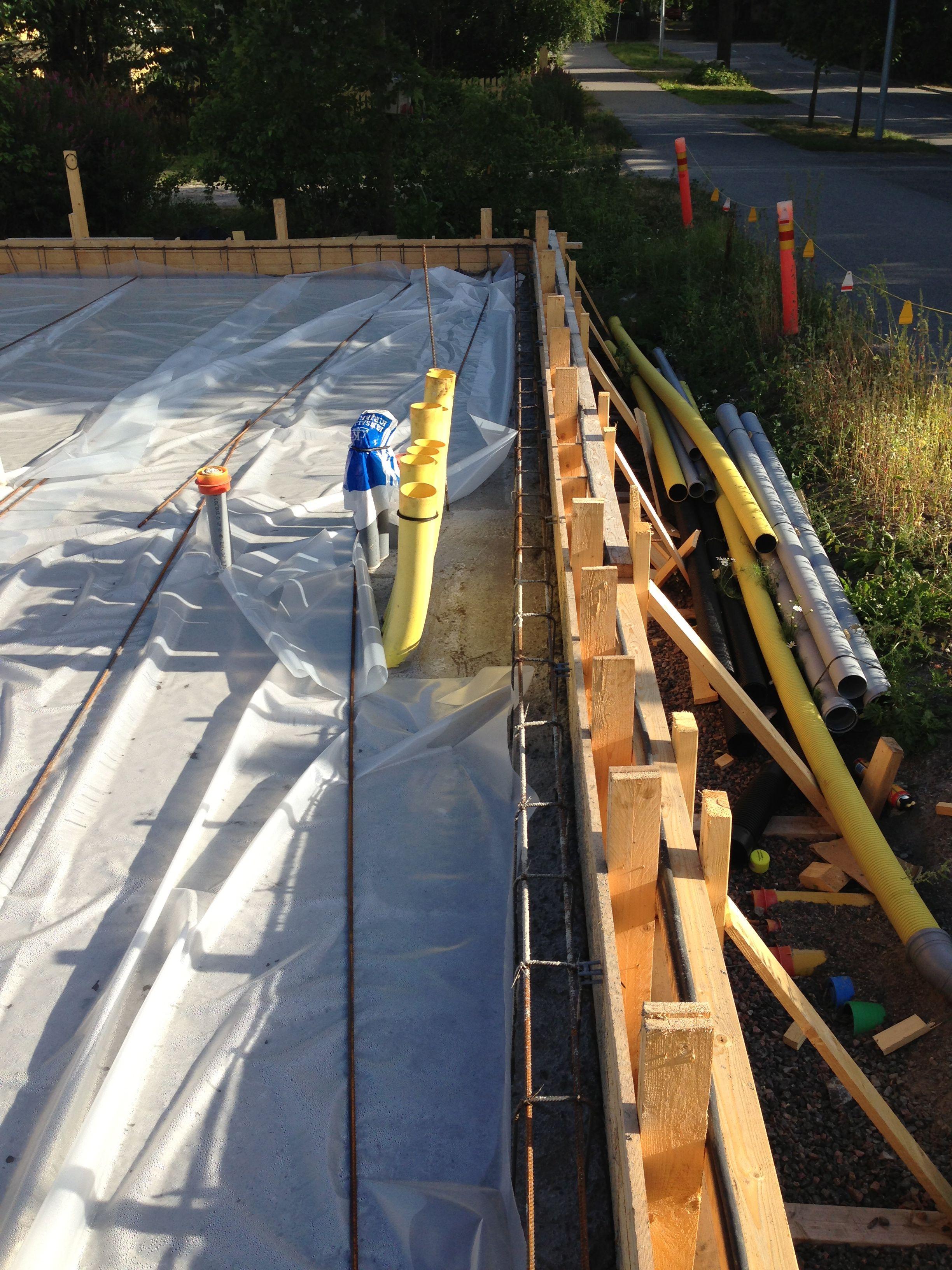 Betonia, betonia... Ylöspäin mennään