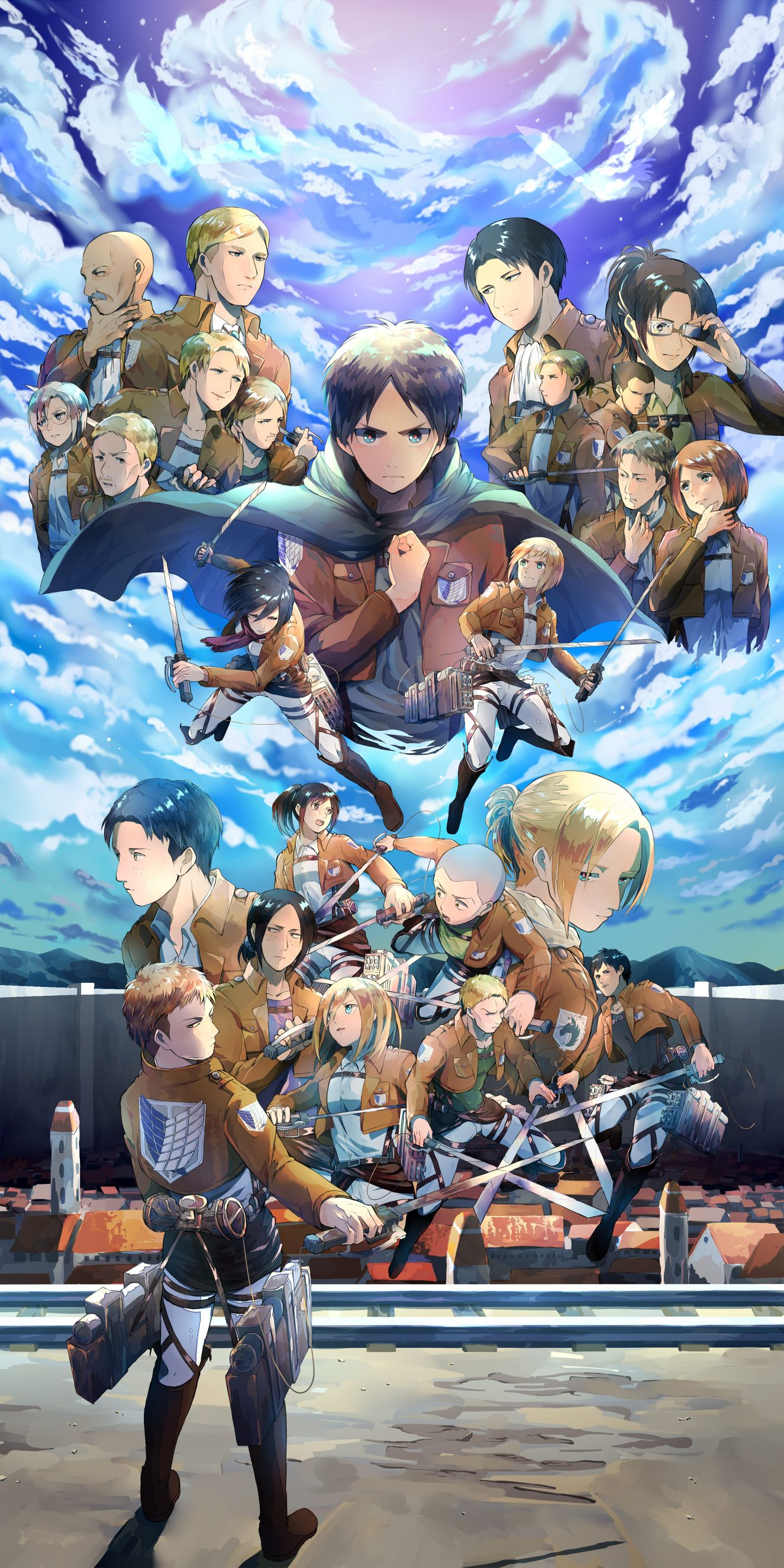 Shutterstock.com sizing the walls sizing allows you to maneuver the paper into position on the wall without tearing. Tags: Shingeki no Kyojin, Mikasa Ackerman, Christa Renz ...