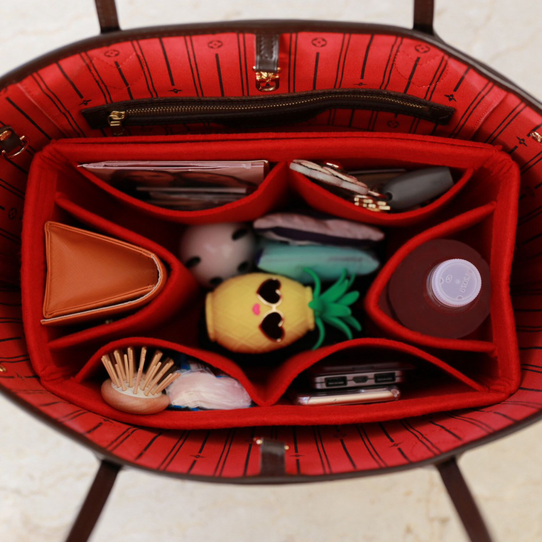 592eed78c6a Bag Purse Organizer for Louis Vuitton Bags, Felt Purse Organizer, bag insert,  Bag