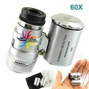 Mikriskop Mini 60x Zoom IDR. 40.000,-