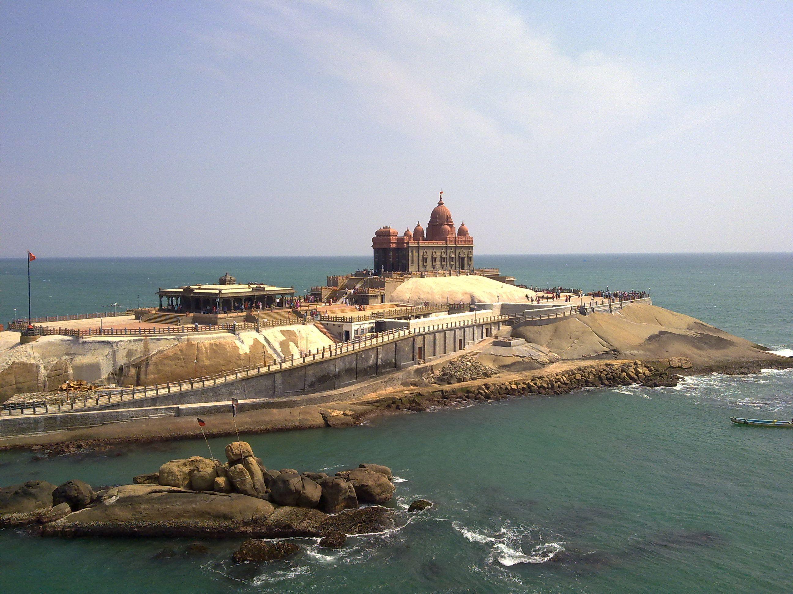 Vivekananda_Rock_kaniyakumari_beach_Tamilnadu