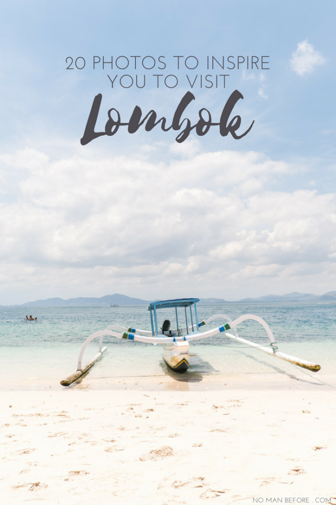 20 Photos to Inspire You to Visit Lombok | The reasons to visit Lombok are endless, but here are a few of the best in photo form, including white sandy beaches, beautiful waterfalls, and amazing surf spots for anyone from beginners to pros.