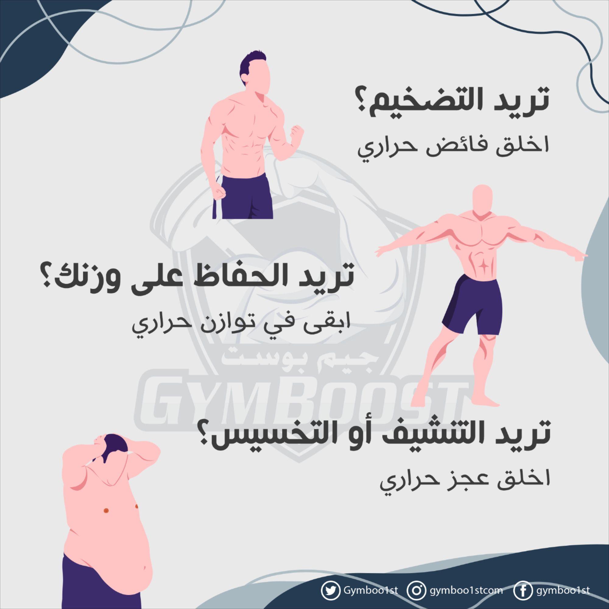 أهمية السعرات الحرارية Fitness Healthy Lifestyle Exercise Workout