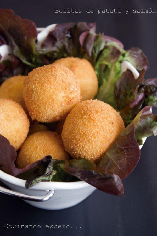 Bolitas De Patata De Salmón Opción 2 En 2020 Recetas De Comida Alimentacion Bebe Patatas