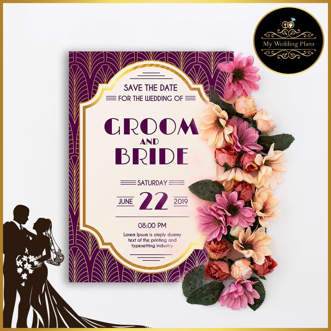 Customization Wedding Card Design Online India in 2020 ...