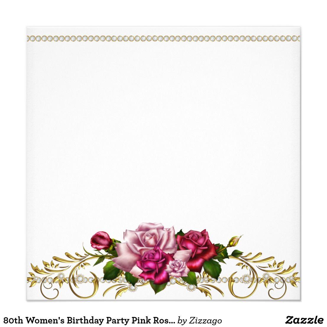 Create Your Own Invitation Zazzle Com Valentines Wallpaper Flower Frame Boarder Designs