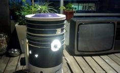 Example of a DIY Space Bucket for growing marijuana GrowWeedEasy.com