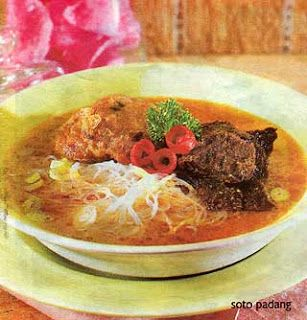 soto padang masakan indonesia resep masakan tradisional ...