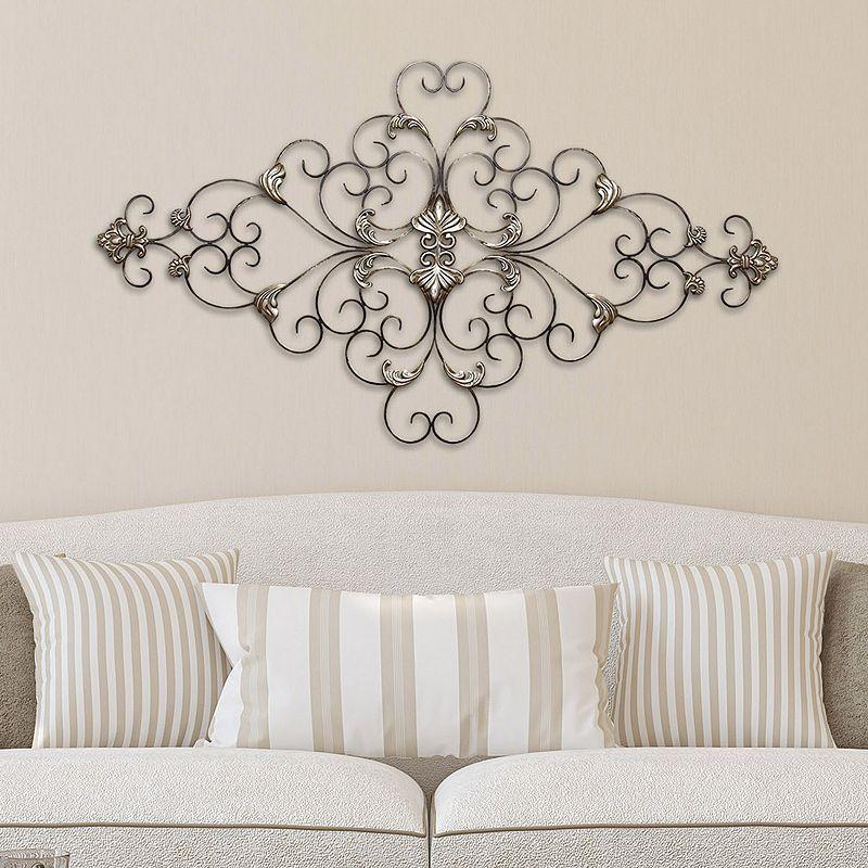 389a5a17e8 Stratton Home Decor Ornate Scroll Metal Wall Decor | Products ...