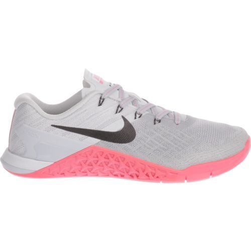 ce49d65c3cd05a Nike Women s Metcon 3 Training Shoes (Wolf Grey Black Racer Pink Pure  Platinum