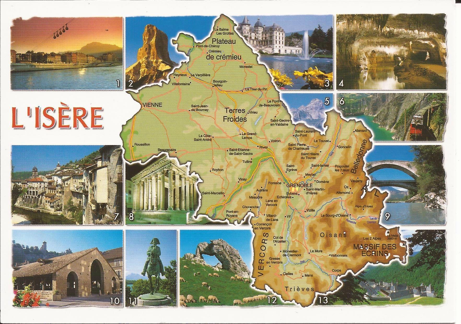 38 Isere Dans Ma Boite Aux Lettres Cartes Postales De France