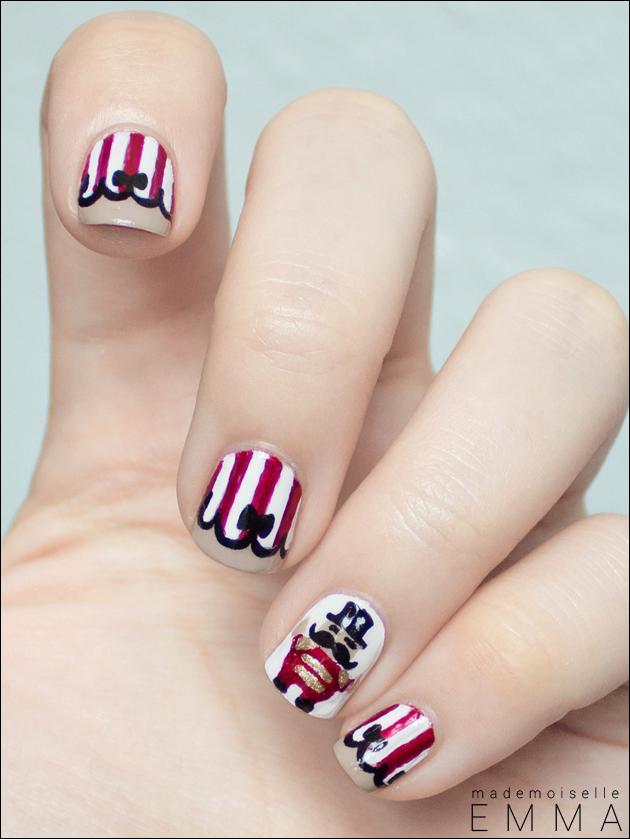 nailstorming #10 circus nails
