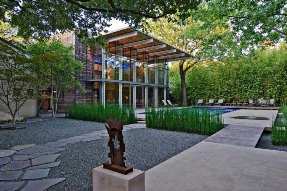 Modern Minimalist Home And Garden Design Suitable Plants For Minimalist Garden Style That Lo Minimalist Garden Modern Landscape Design Modern Backyard Design