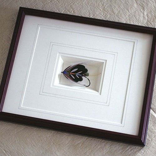 Large Frames With Triple Textured Mats , This Picture Frame Is Using ...