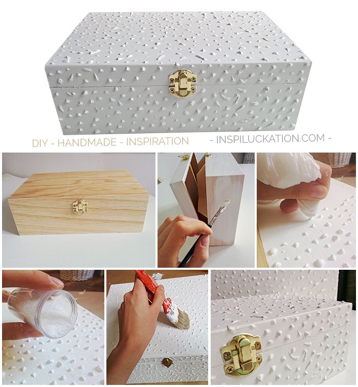 Easy and simple way to create a JEWELRY box from a TEA box.