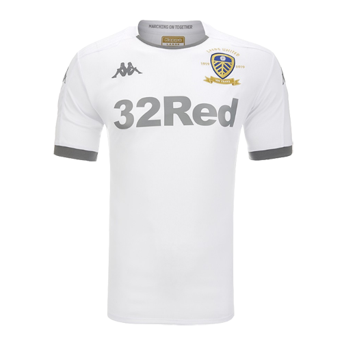 19 20 Leeds United Home White Jerseys Shirt Cheap Soccer Jerseys Shop Leeds United White Jersey Shirt Jersey Shirt