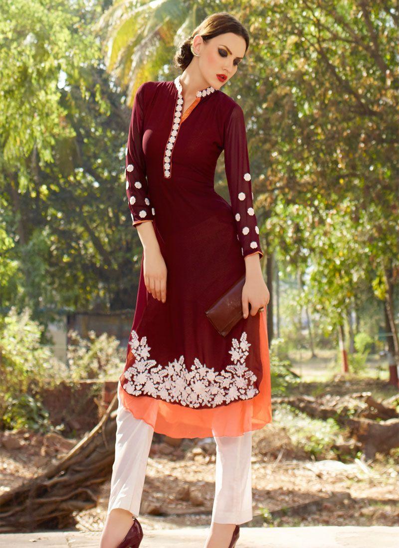 10ecfc161 Pin by akshay solanki on New Fashionable Kurties