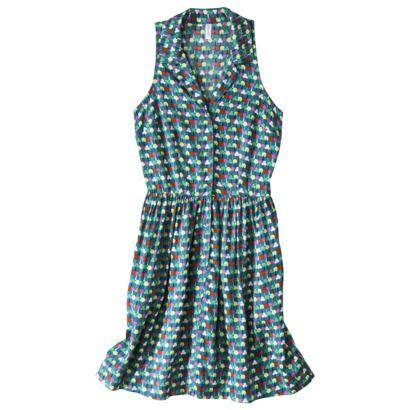 Xhilaration® Juniors  Racerback Shirt Dress - Assorted Colors