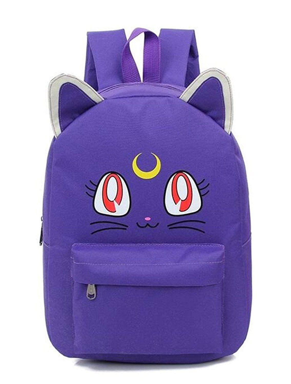 ef6deeb34b15 YOYOSHome® Anime Sailor Moon Cosplay Luna Daypack Backpack School ...