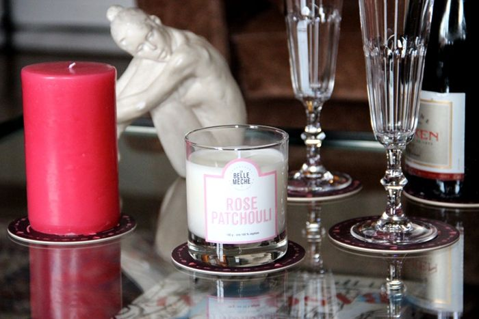 Ambiance #saintvalentin http://www.labellemeche.com/blog/2014/02/10/all-you-need-is-love/