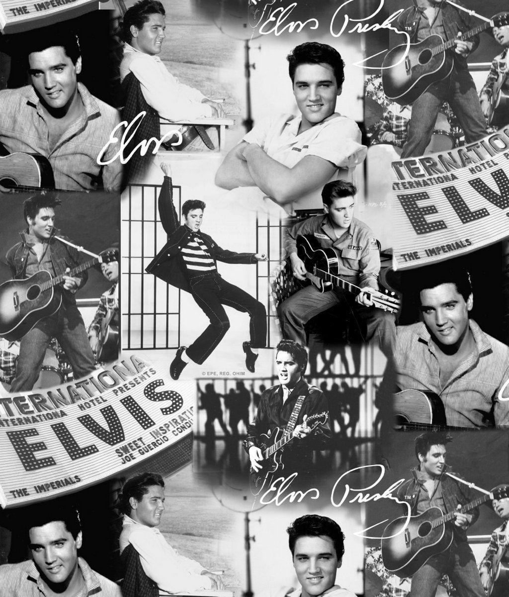 Muriva Presley Collage Wallpape Black And White Amazon Co Uk Diy Tools