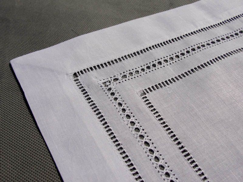 Table Runner Hemstitch Pulled Thread   Google Search