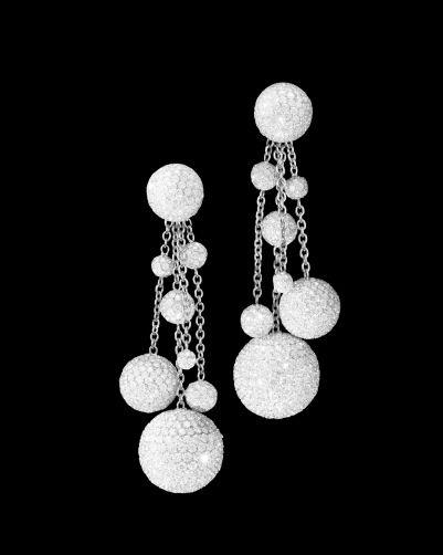 Boule earrings by de Grisogono