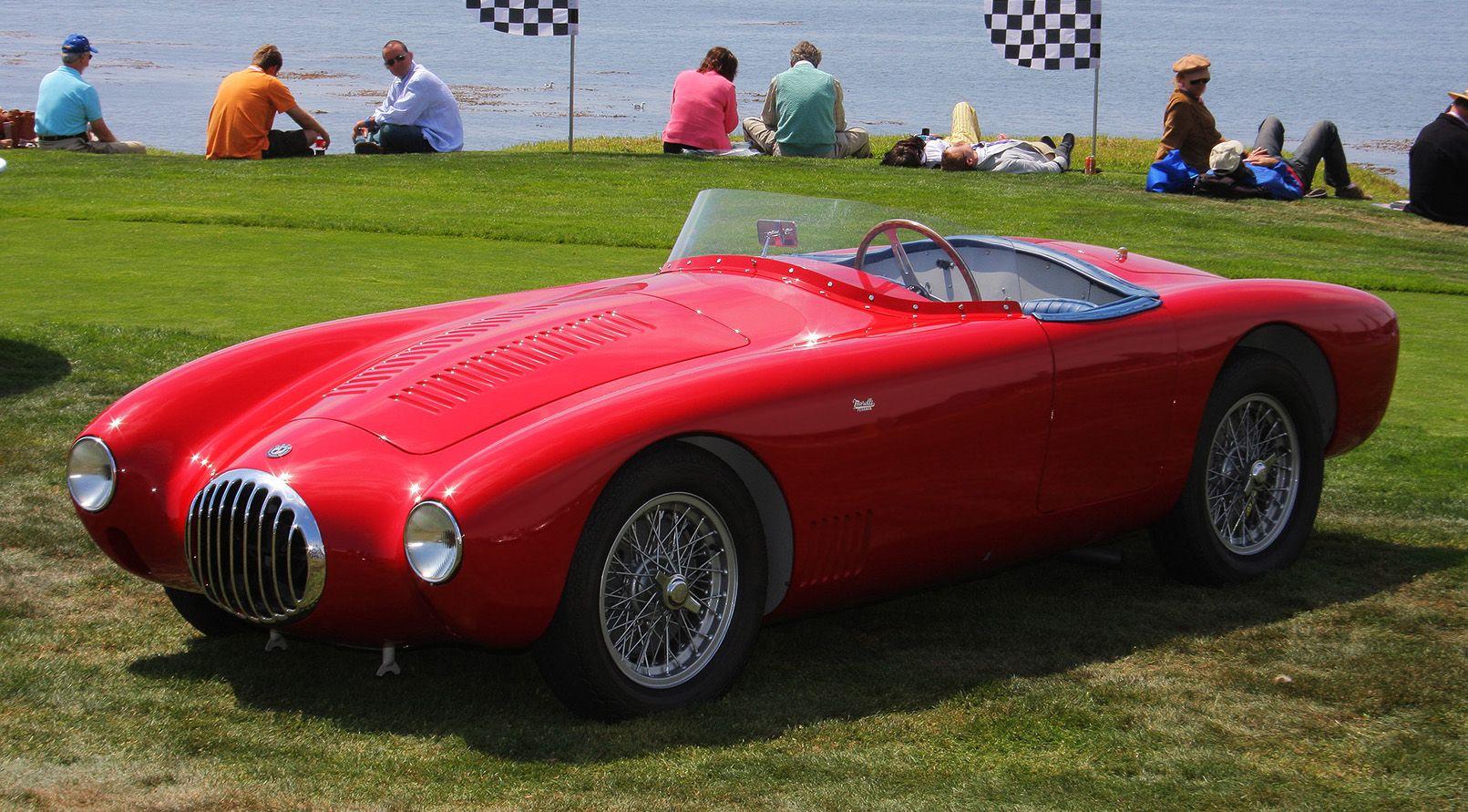 1955 Osca Mt4 Morelli Spider Vintage Cars Maserati Vintage