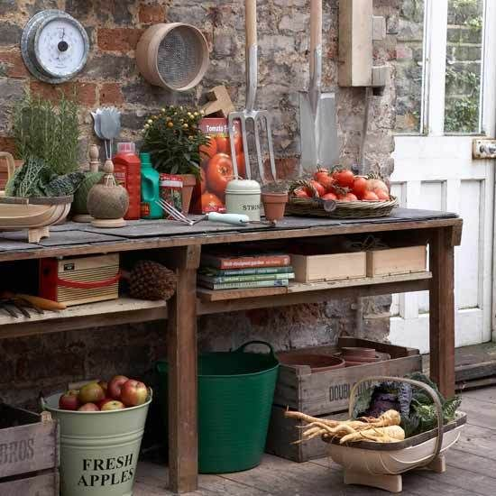 The gardener in me cries out for this!  #conservatories #potting_rooms #greenhouses