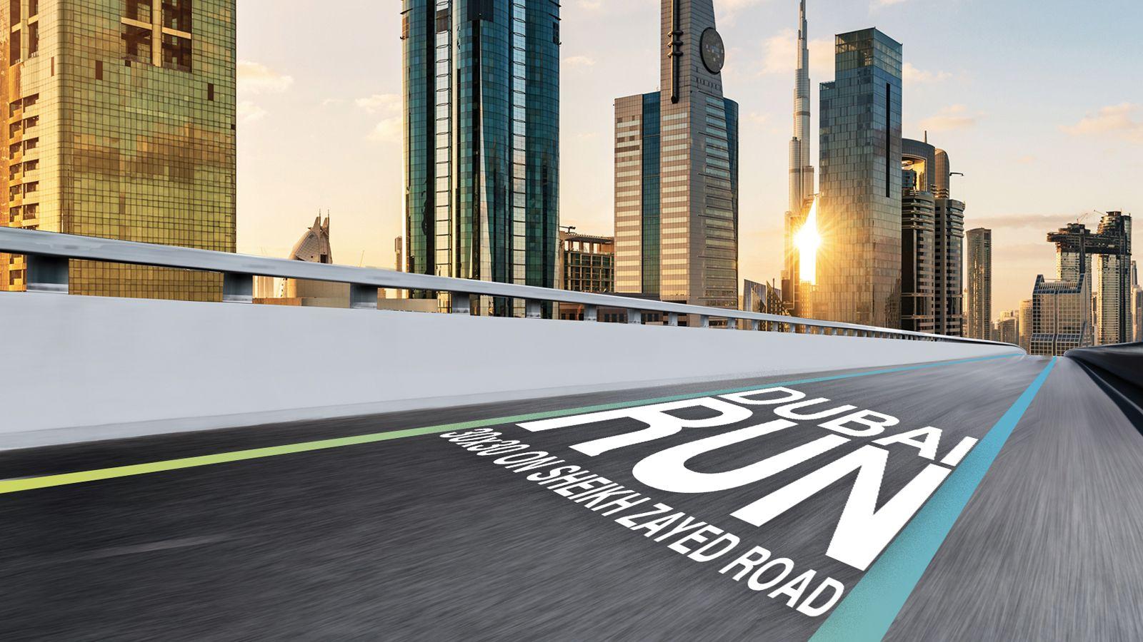 Race Across The Iconic Sheikh Zayed Road At The Dubai Run Dubai Dubai World Visit Dubai