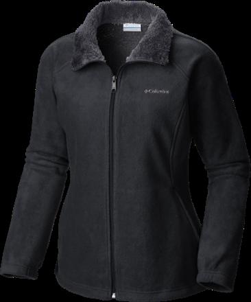 0ebf0016f11 Columbia Women s Dotswarm II Fleece Full-Zip Fleece Jacket Plus Sizes Black  3X