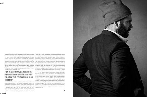 Alexandre Mattiussi - Ami Paris on Behance