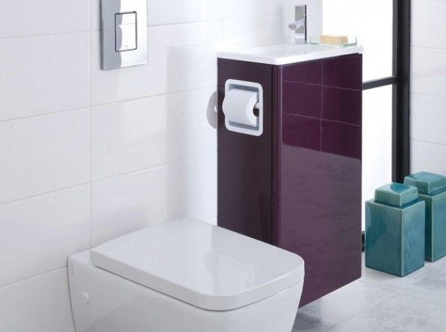 Meuble lavabo wc ikea table de lit - Ikea meuble toilette ...