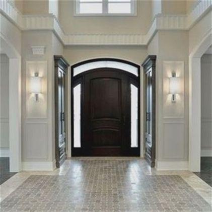 Two story foyer staircase ideas shelf decor new homes design  also rh pinterest