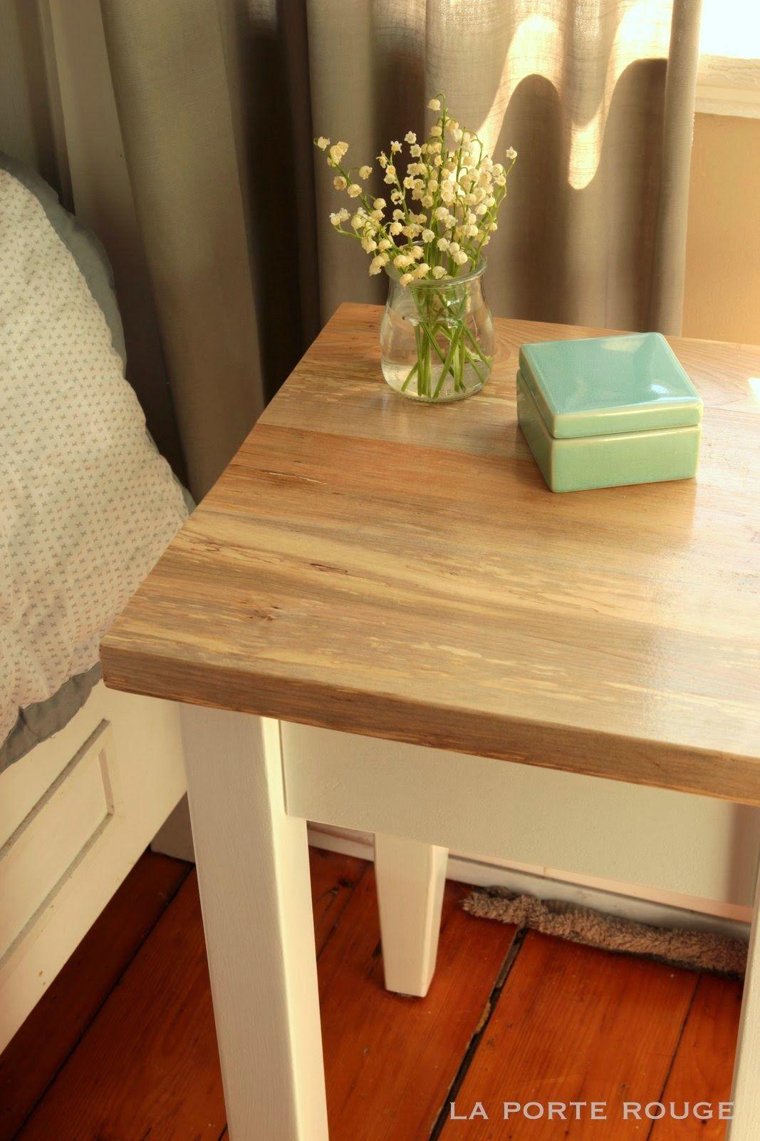 Ikea Hack Idbyn Diy Pinterest Tables De Chevet Chevet Et  # Meuble La Porte