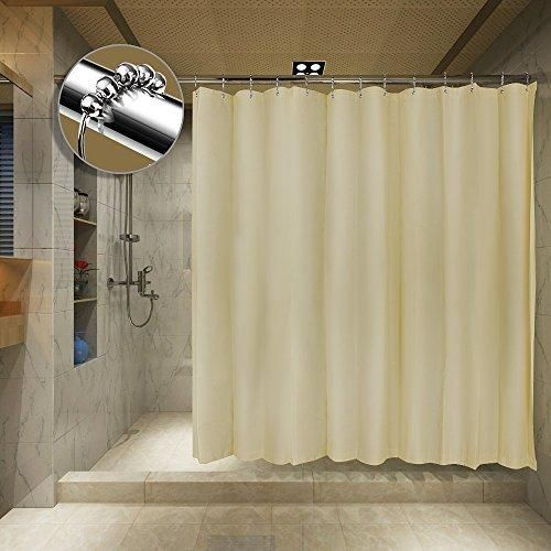 Tishine Mildew Resistant Shower Curtain Water Repellent And Anti