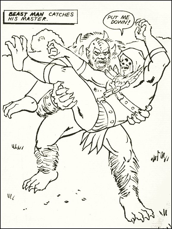 Gambar Vintage Coloring Book Vintage Coloring Pages He Man Coloring