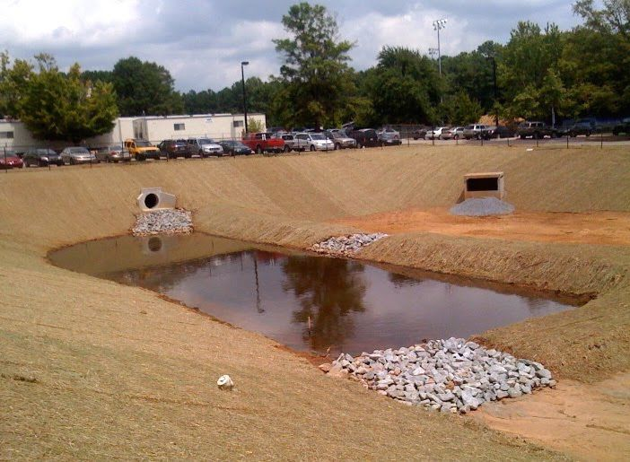 A it 39 s all about water stormwater stormwater reuse for Stormwater pond design