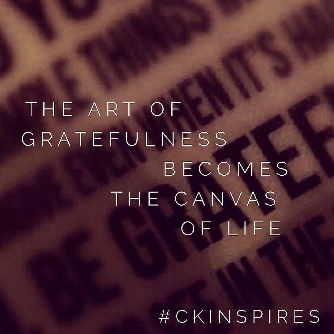 Paint gratefulness all over your life #grateful #entrepreneur #youretheartist #life #dream #motivation #inspiration #ckinspires