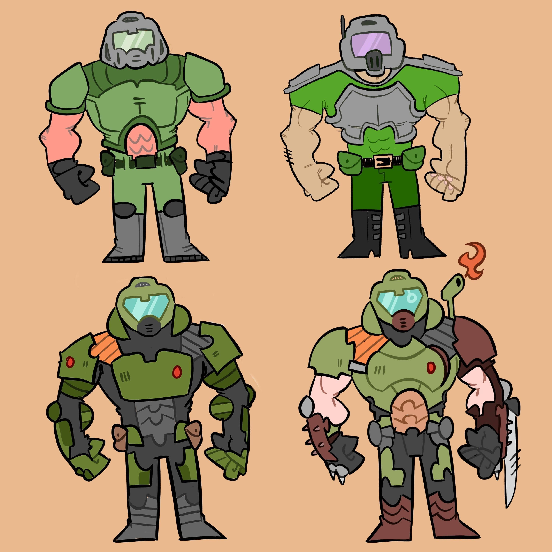 Evolution Doom Videogame Doom Doom 2016